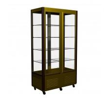 Холодильная витрина Carboma R800C Люкс (остекление с 4-х сторон)