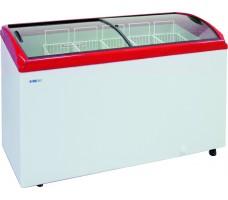 Морозильный ларь Italfrost ЛВН 400 Г (СF 400 C) (красный)