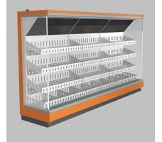 Пристенная витрина LIDA STELLA 1,3/0,8 (фруктово-овощная модель)